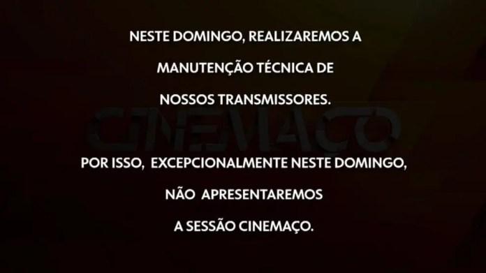Rede Globo fica fora do ar para manutenção nos transmissores (Reprodução: TV Globo)
