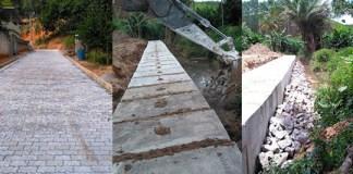 Comunidade de Kennedy recebe drenagem e pavimentação de ruas