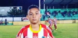 Marllon Marcelino de apenas 14 anos