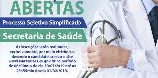 Processo Seletivo Simplificado da Saúde de Marataízes