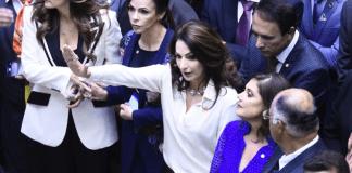 Deputada Norma Ayub toma posse para seu segundo mandato Deputada Federal