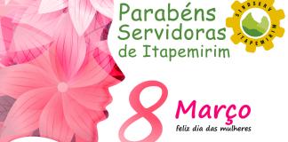 SINDSERV Parabeniza servidoras pelo dia internacional da mulher