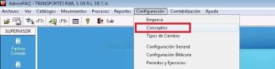 AdminPaq 1 - Activar Certificado Bloqueado