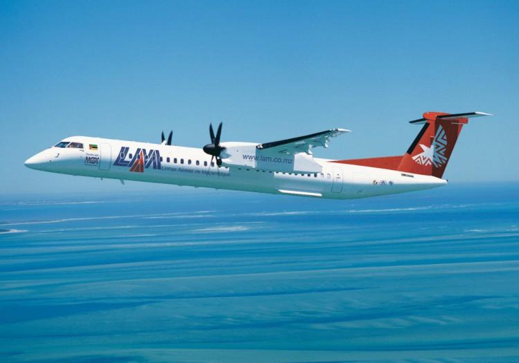 Um avião das Linhas Aéreas de Moçambique (LAM) foi obrigado, ontem, a voltar ao solo, minutos depois de ter levantado o voo, no Aeroporto Internacional de Maputo