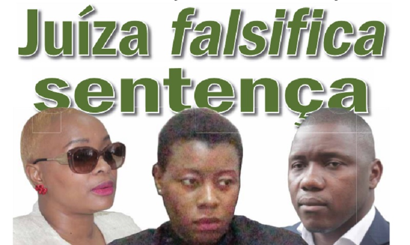 Juíza falsifica sentença de Rofino Licuco