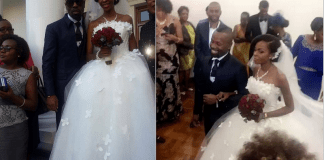 Denny OG, de 39, e sua companheira Nhelete Mondlane de 35 anos de idade, celebraram a união na Matola.
