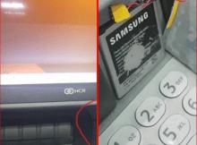 Por favor tem atenção aos detalhes da ATM antes da utilizar. Foi detectado um dispositivo para clonagem de cartões numa ATM do Barclays, na Av. Mao Tse Tung.
