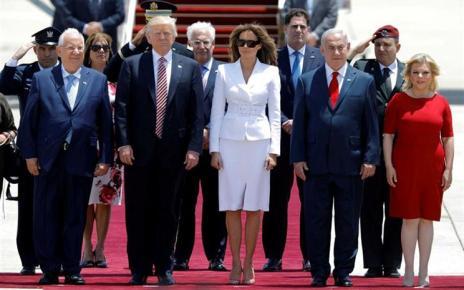 """Momento constrangedor aconteceu durante a visita do Presidente dos EUA a Israel O vídeo está já a tornar-se viral, não fosse mais um momento """"estranho"""" e constrangedor de Donald Trump."""