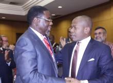 """Quessanias Matsombe considera que foi """"protagonista das primeiras eleições de facto na CTA"""" Matsombe parabenizou Agostinho Vuma."""