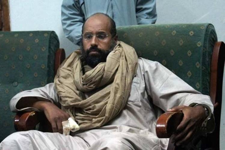 Um dos filhos de Muammar Kadhafi, Seif al-Islam, condenado à morte na Líbia, foi libertado na sexta-feira, anunciou ante-ontem, um grupo armado no Facebook.