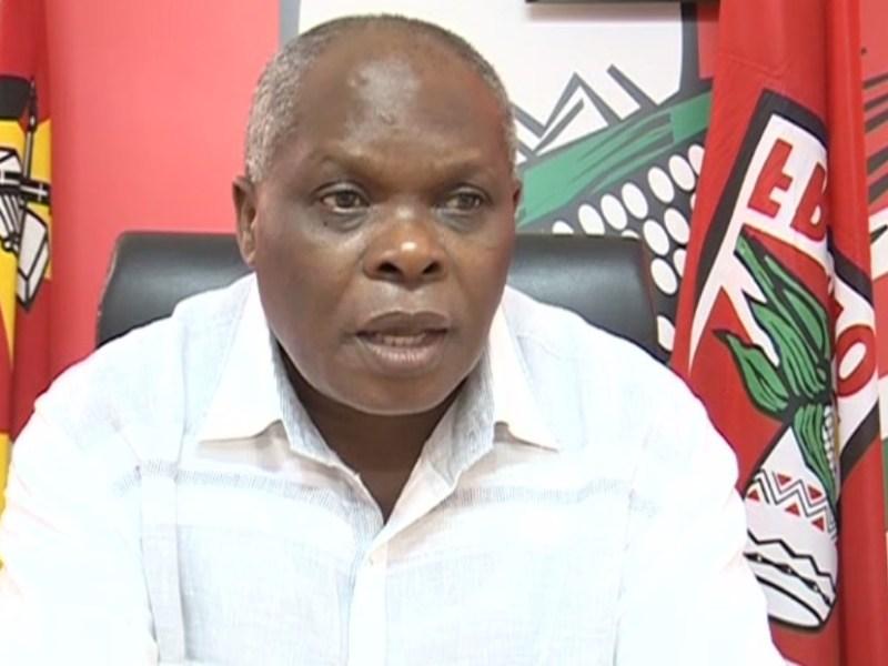 Comissão Política da Frelimo suspende Primeiro Secretário do partido da Província de Maputo