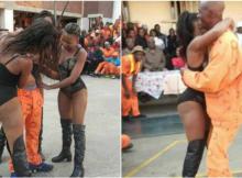 Guardas suspensos após permitirem que reclusos recebessem visita de strippers, O evento terá ocorrido no dia 21 de Junho e, desde então, os serviços
