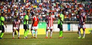 A selecção nacional, os Mambas, perdeu, esta tarde, frente ao Madagáscar, por duas bolas sem resposta. Num jogo muito disputado, em que quer Luís Miquissone quer Telinho não conseguiram