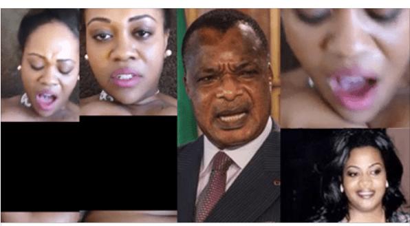 O presidente do Congo reage em defesa de sua filha. O vídeo vazado é falso e todo o trabalho foi do partido da oposição