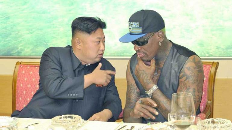 Dennis Rodman diz que pode acabar com o clima de tensao entre Trump e Kim Jong-un