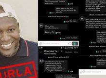 Um jovem que responde pelo nome de Bruné Machangana diz ter sido burlado dinheiro pelo personal trainner Mouzinho