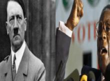 Eu ainda sou o Hitler da época. Este Hitler tem apenas um objetivo, a justiça para o próprio povo, a soberania do povo, o reconhecimento da independência do povo