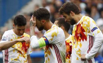 A participação da seleção espanhola no Campeonato Mundial de Futebol de 2018 está em sério risco, Para a FIFA, esta posição do Governo pode ser entendida como ingerência na Federação, pelo que, a confirmar-se, será obrigada a expulsar Espanha de todas as competições, a começar pelo Mundial da Rússia.