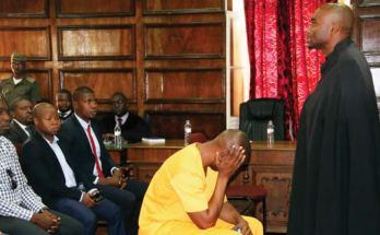 O bilhete de identidade sul-africano supostamente falso, encontrado na posse de Zófimo Muiuane, durante as investigações por assassinato a tiros da sua esposa Valentina Guebuza