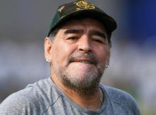 Maradona foi proibido de entrar nos Estados Unidos da America por insultar Trump