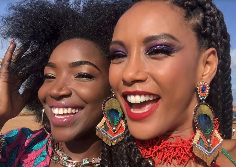 A actriz brasileira Taís Araújo encontra-se em Lunada, Angola, a gravar a quarta temporada da série Mr Brau, produzida e transmitida na TV Globo
