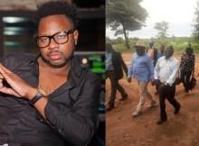 O músico Ziqo publicou uma fotografia que se tornou viral na internet entre o Presidente da República Filipe Nyusi e o Presidente da Renamo Afonso Dhlakama