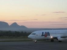 Devido à ruptura do combustível em Nampula, as Linhas Aéreas de Moçambique(LAM) informam que os voos entre Nampula -Tete - Joanesburgo poderão sofrer