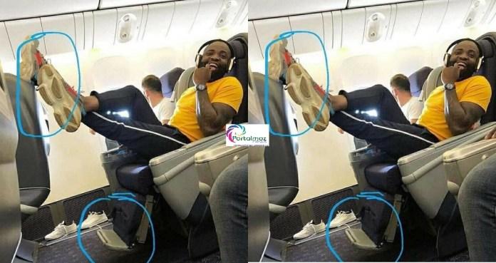 O músico angolano, Preto Show, está a ser alvo de críticas nas redes após publicar uma fotografia captada na aeronave das Linhas Aéreas de Angola (TAAG)