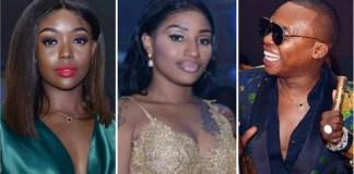 O promotor de eventos Guyzelh Ramos, realizou a sua festa de aniversário onde a ex-namorada Alíchia Adams foi uma das convidadas.