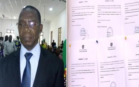 Paulo Vahanle, exonerou, em despachos separados e com efeitos imediatos, nove dos dez vereadores da edilidade e seis chefes dos postos administrativos