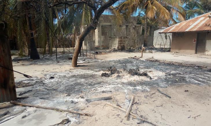 Pelo menos cinco pessoas morreram durante um ataque de homens armados na aldeia de Lipandacua no posto administrativo de Chai no distrito de Macomia na província de Cabo Delgado
