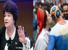 Deputada russa apelou às mulheres do país anfitrião do Mundial 2018 para não terem relações íntimas com estrangeiros de outras raças durante a prova