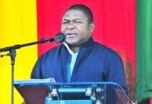 """O SDPI do distrito de Chimoio anunciou a decisão de adjudicar à empresa """"Jetro Construção"""" o concurso relativo à construção de uma tribuna para acolher Nyusi"""