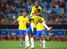 A seleção do Brasil avança para as quartas de final, após vencer o México por 2 a 0, durante partida desta segunda-feira (2/7).