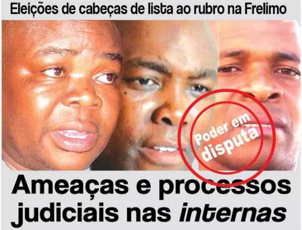 As eleições internas para a escolha dos cabeças de listas estão no partido frelimo no minicipio da Matola estão a ferro e fogo.