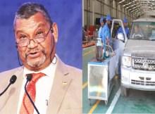 """O fracassado projecto de montagem de automóveis em Maputo, cujos primeiros modelos denominados """"Matchedje"""" chegaram a ser apresentados no mercado, só deixou dívidas para o país"""
