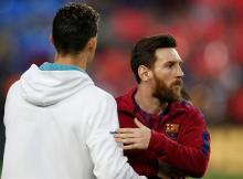 Desta feita foi o principal 'rival' do craque português Lionel Messi, a comentar a mudança de CR7 para Itália, confessando ter sido surpreendido com a decisão.