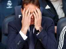 Julen Lopeteguivai deixar de ser treinador do Real Madrid. Segundo avança a rádio espanhola Onda Cero, após aderrota por 5-1 frente ao Barcelona,