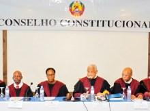 O Conselho Constitucional irá proclamar amanhã os resultados das quintas eleiçõesautárquicas realizadas a 10 de Outubro passado
