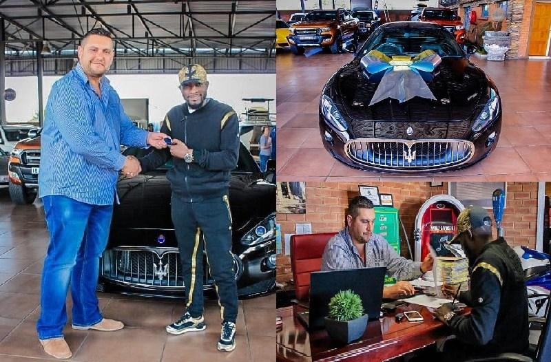 O profeta moçambicano que virou celebridade internacional JOEL WILLIAMS é dono de um dos melhores carros de luxo a nível internacional MASERATI GRAND TURISMO GTS