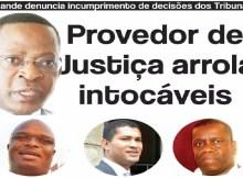 Refira-se que na mesma locução, Nyusi reconheceu, nas entrelinhas, a existência de algum ruído entre o Provedor da Justiça e instituições do Governo.