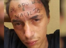 Recorde-se que o jovem foi vítima de um ataque, em julho de 2017, por dois homens que lhe tatuaram a inscrição na testa, em São Bernardo do Campo.