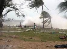 Lê-se ainda no comunicado que o INAM prevê a continuação de ocorrência de chuvas persistentes em regime forte a muito forte, ventos com rajadas fortes até 60 quilómetros por hora e trovoadas severas