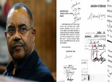 A assinatura aposta no documento que serviu de base para o pedido de renúncia do mandato do ex-deputado Manuel Chang, pode ter sido forjada