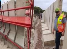 A África do Sul está a construir um extenso muro na fronteira com Moçambique.