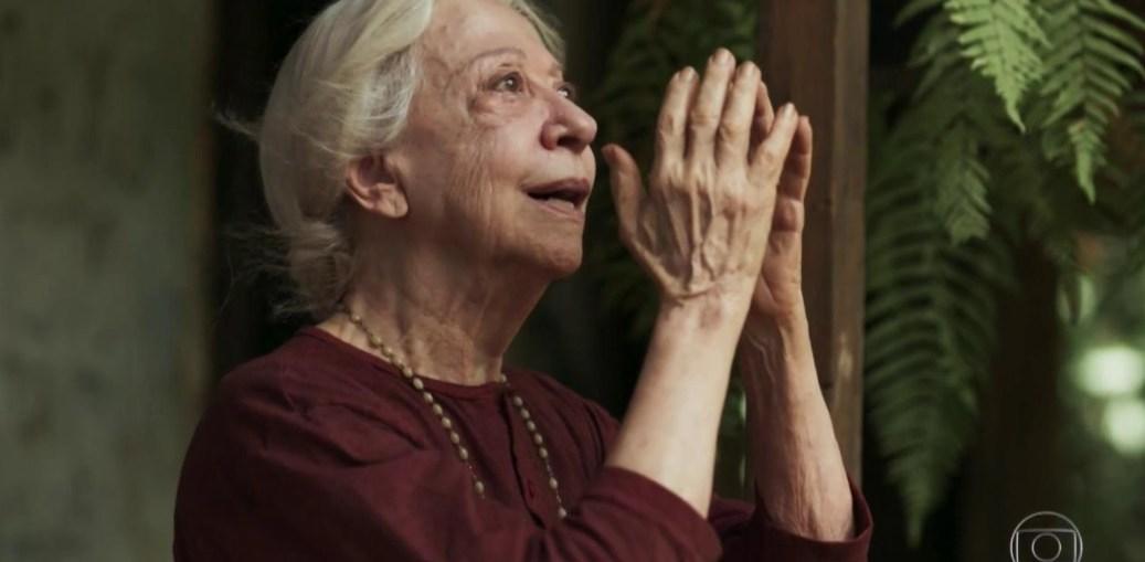 Mercedes (Fernanda Montenegro) em O Outro Lado do Paraíso