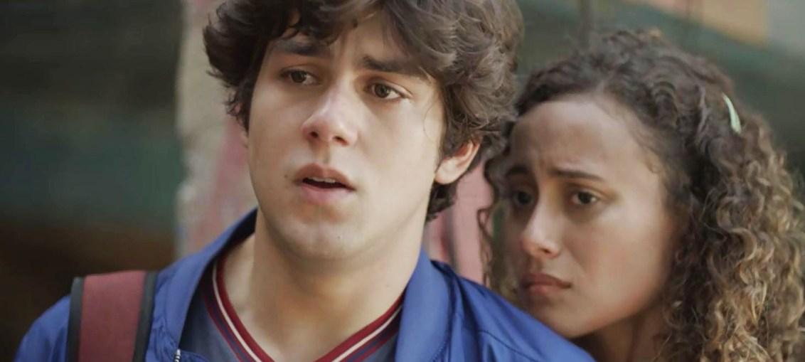 Alex (Daniel Rangel) e Maria Alice (Alice Milagres) em Malhação