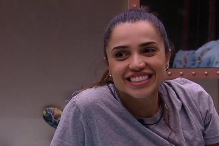 Paula é a eliminada do último paredão do BBB18 (Reprodução/Globo)