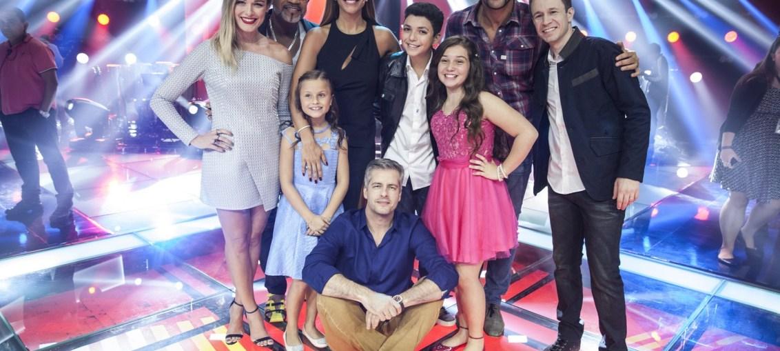 The Voice Kids concorre ao Emmy com a temporada de 2016 (Foto: Reprodução/Globo)