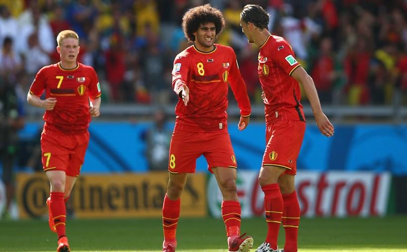 Seleção da Bélgica (Foto: Reprodução)